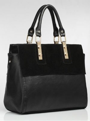 Fashion-women-genuine-leather-tote-bag-leather (1)