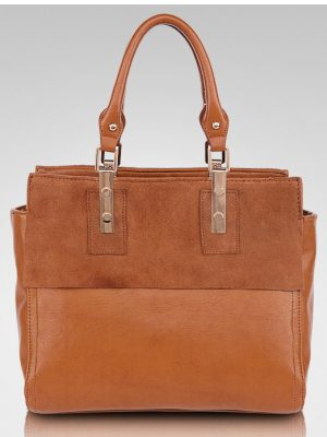 Fashion-women-genuine-leather-tote-bag-leather