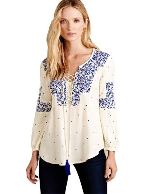 casual blouse for fat woman
